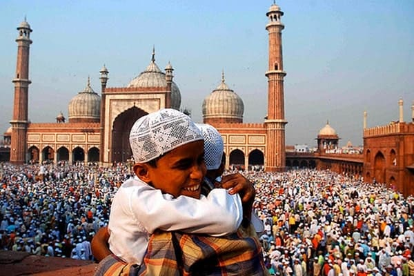 Eid is a worldwide festival and celebration for Muslims